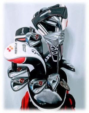 How to pack golf bag