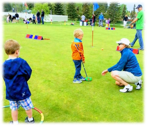 What's the best age to start golf lessons