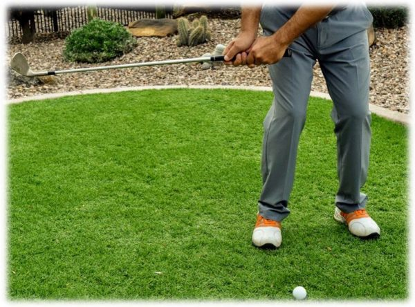 Chipping Back Swing