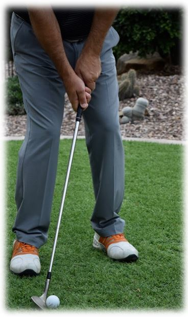 Chipping the Golf Ball Low