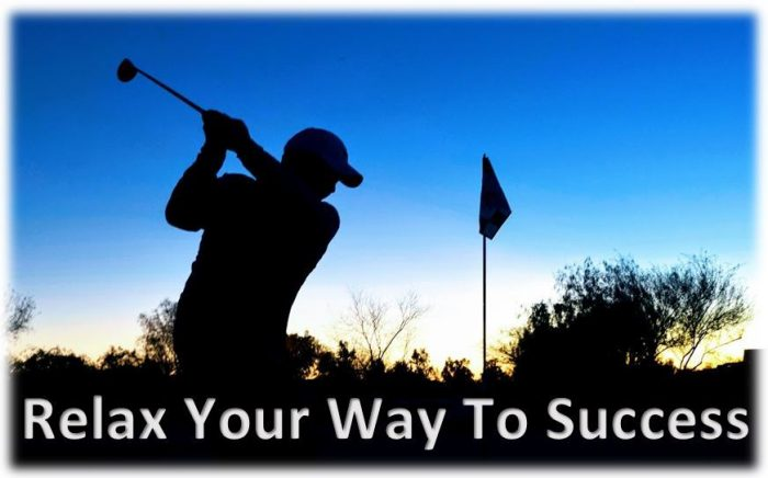 Relaxed Golf Swing