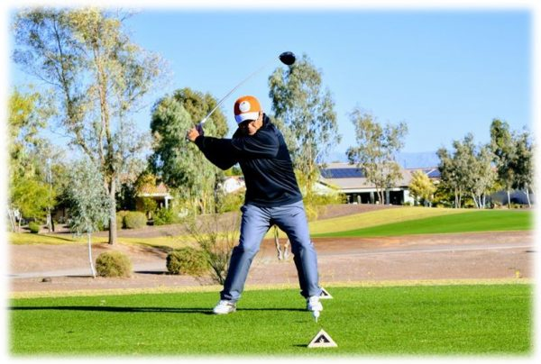 Right Elbow Leads Golf Downswing - Maximum Distance Technique